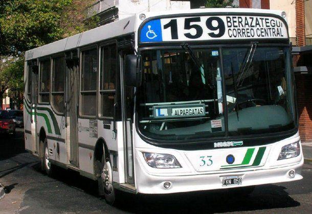 Colectivo de la línea 159<br>