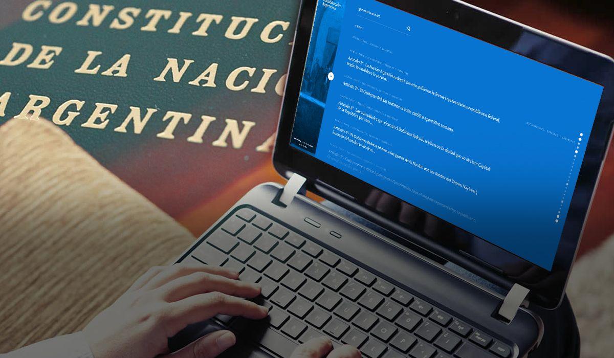 La Constitución Online, el sitio para acceder fácilmente a la Carta Magna