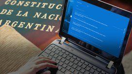 La Constitución Online, el sitio para navegar por la Carta Magna