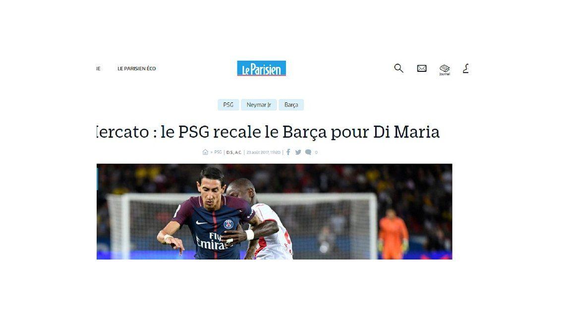 Sin hackers de por medio, Barcelona ofertó por Ángel Di María: ¿qué le respondieron?