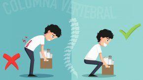 Cómo cuidar la columna para evitar molestias en la espalda