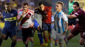 Cardona, Alario, Benítez, Martínez y Sand, figuras de sus equipos