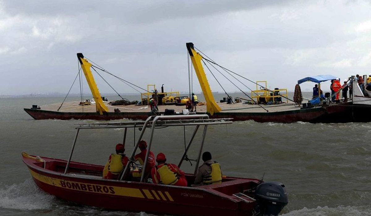 Brasil: se hundió un barco y hay 7 muertos y más de 40 desaparecidos