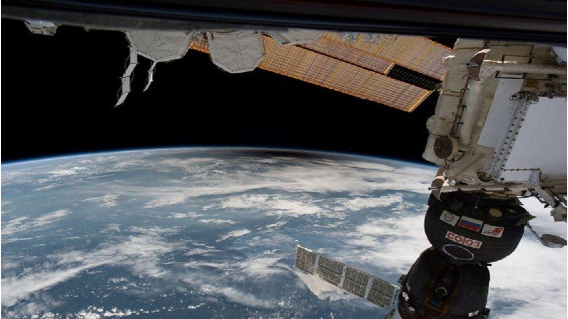 VIDEO: Así vieron los astronautas el eclipse solar desde el espacio