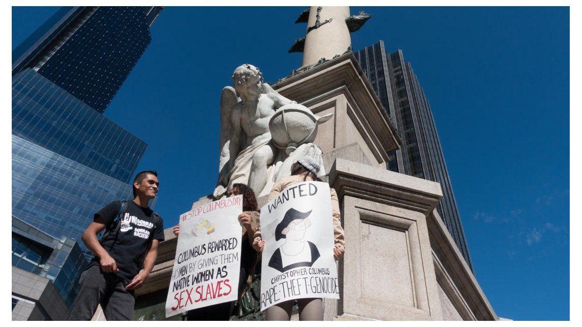 Como en Argentina, EE.UU. se pelea por la estatua de Colón en Nueva York
