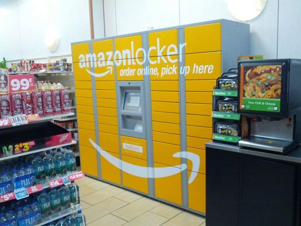 Amazon Locker en un 7-Eleven