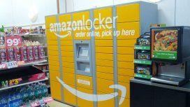 Amazon Locker en un 7-Eleven
