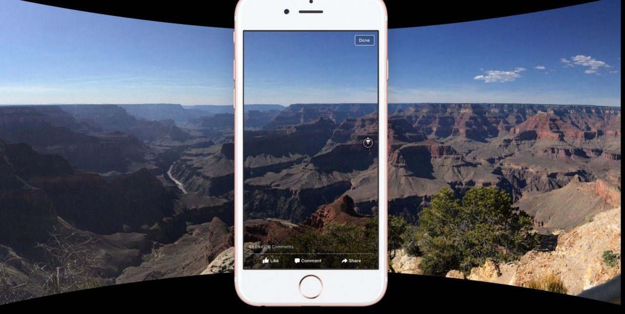 La app de Facebook ya permite sacar fotos a 360