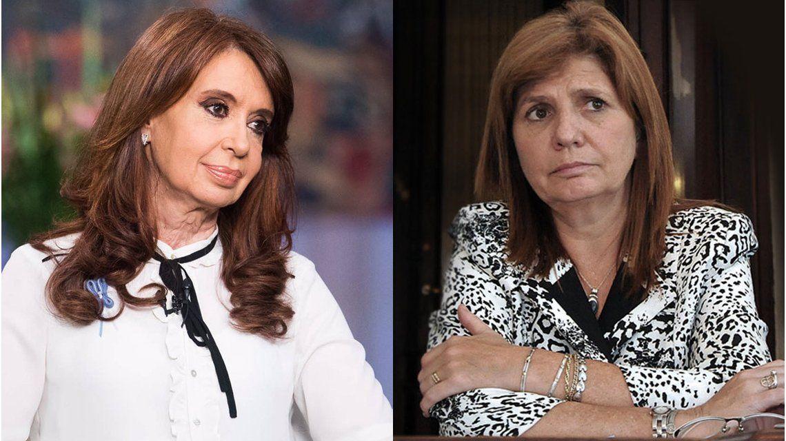 Cristina y Patricia Bullrich se cruzaron por la desaparición de Maldonado