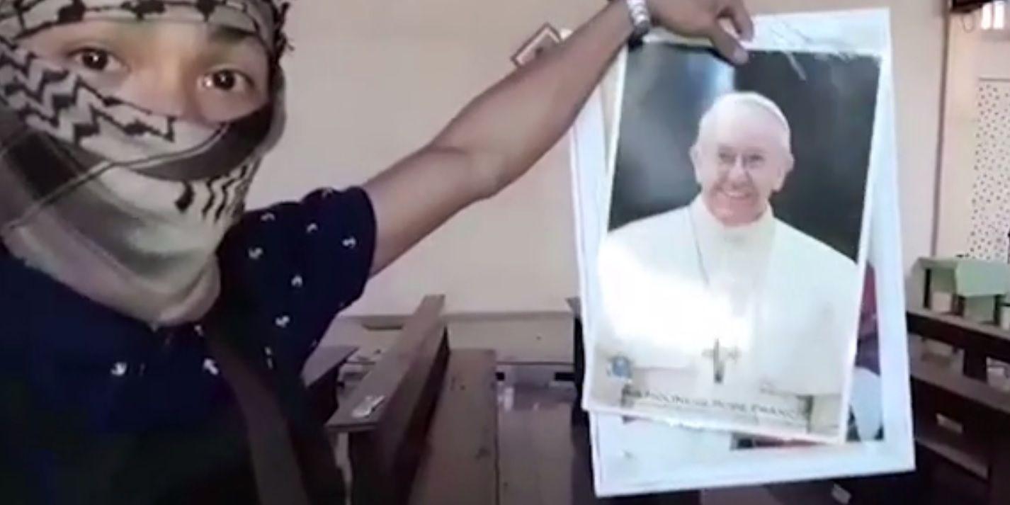 El Estado islámico amenazó al papa Francisco