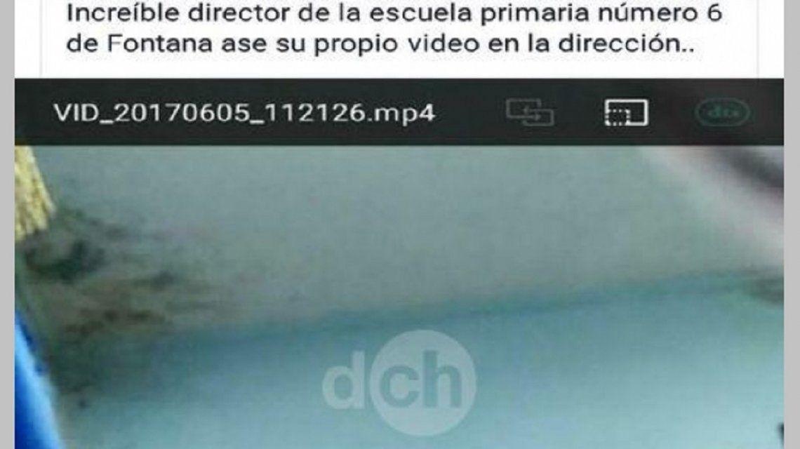 Así se viralizó el video en las redes sociales de Fontana (Chaco)