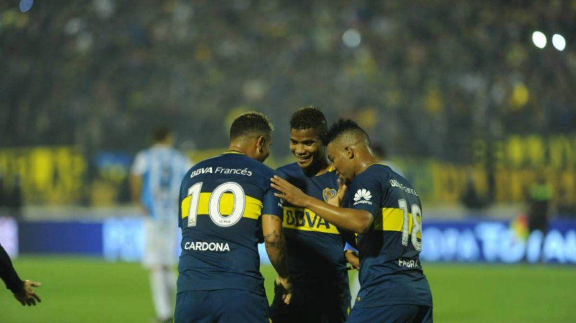 Los colombianos de Boca no jugarán el primer Superclásico de la temporada