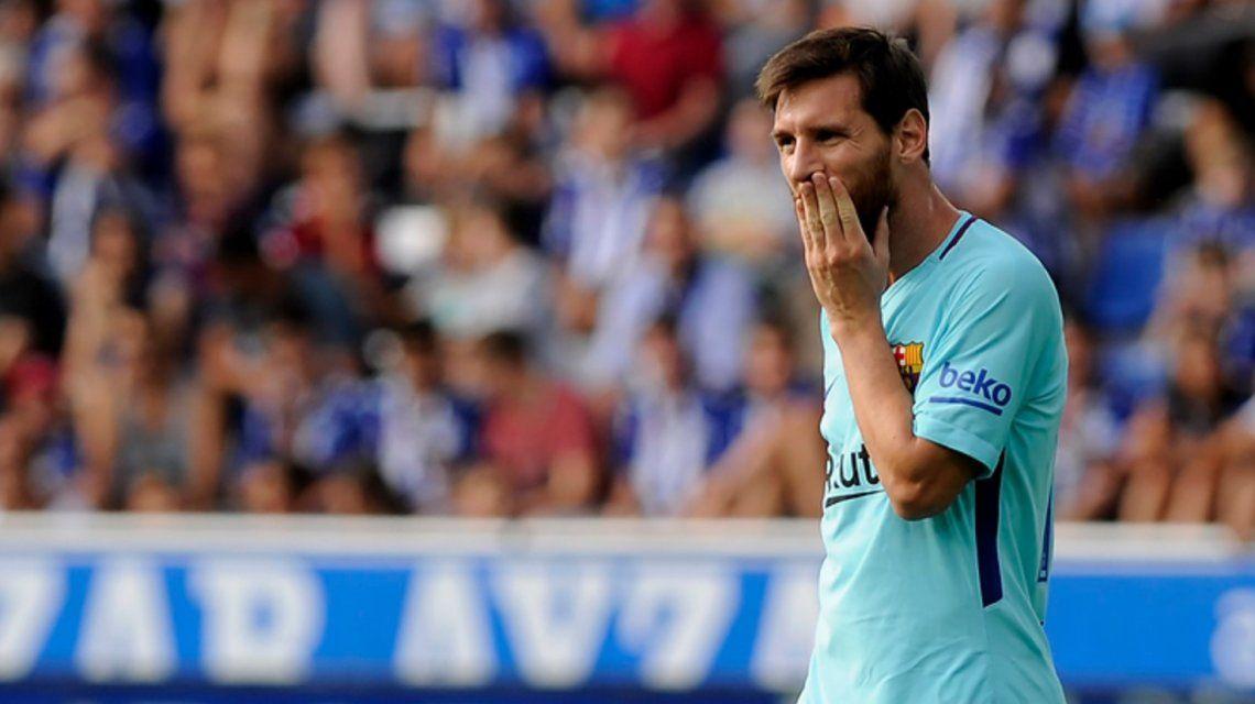 Messi erró un penal pero después se desquitó con dos goles ante Alavés