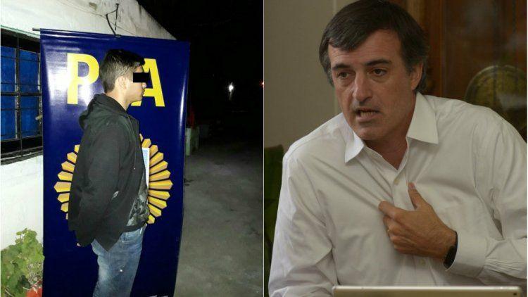 Detuvieron a un sospechoso por las amenazas a Esteban Bullrich