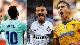 Messi, Icardi y Dybala