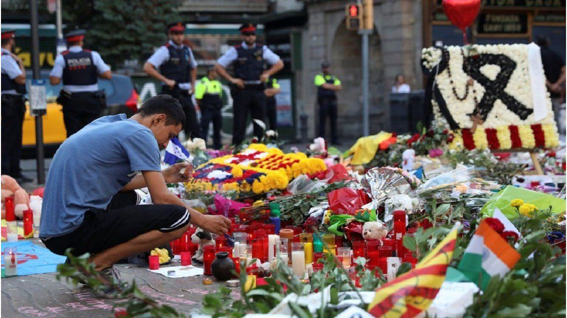Atentado en Barcelona: se eleva a 16 el número de víctimas fatales