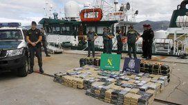 Detuvieron a un argentino en España con 470 kilos de cocaína