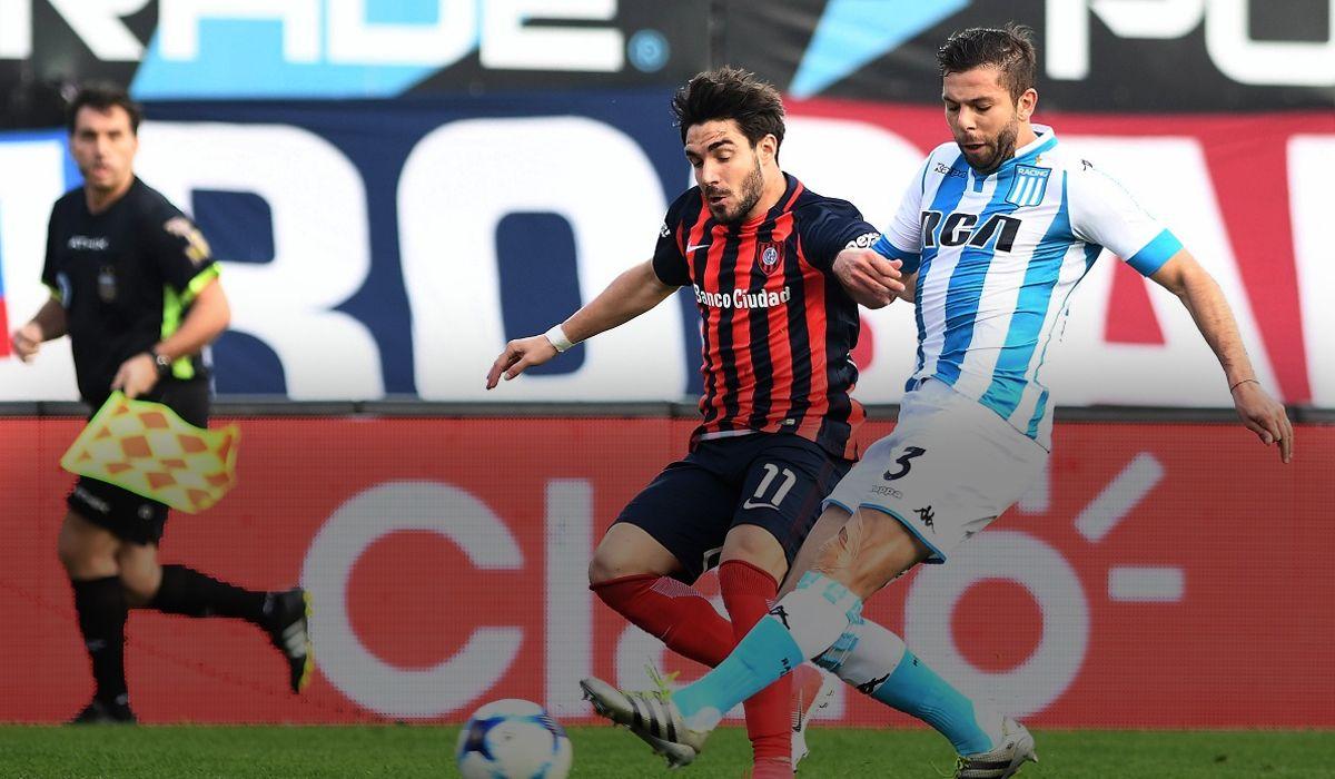Racing empató con San Lorenzo en el primer clásico de la Superliga