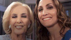 Pese al cruce, al finalizar el programa las dos mujeres se sacaron una foto sonrientes