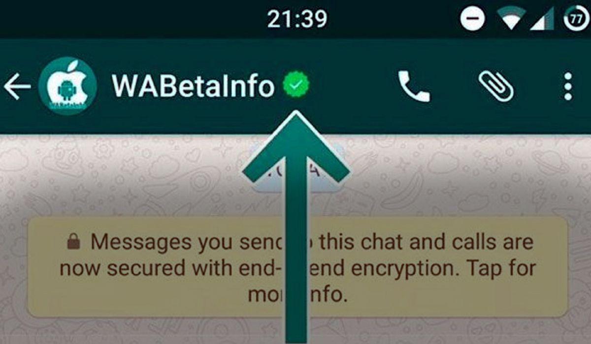 WhatsApp confirma las cuentas verificadas para empresas
