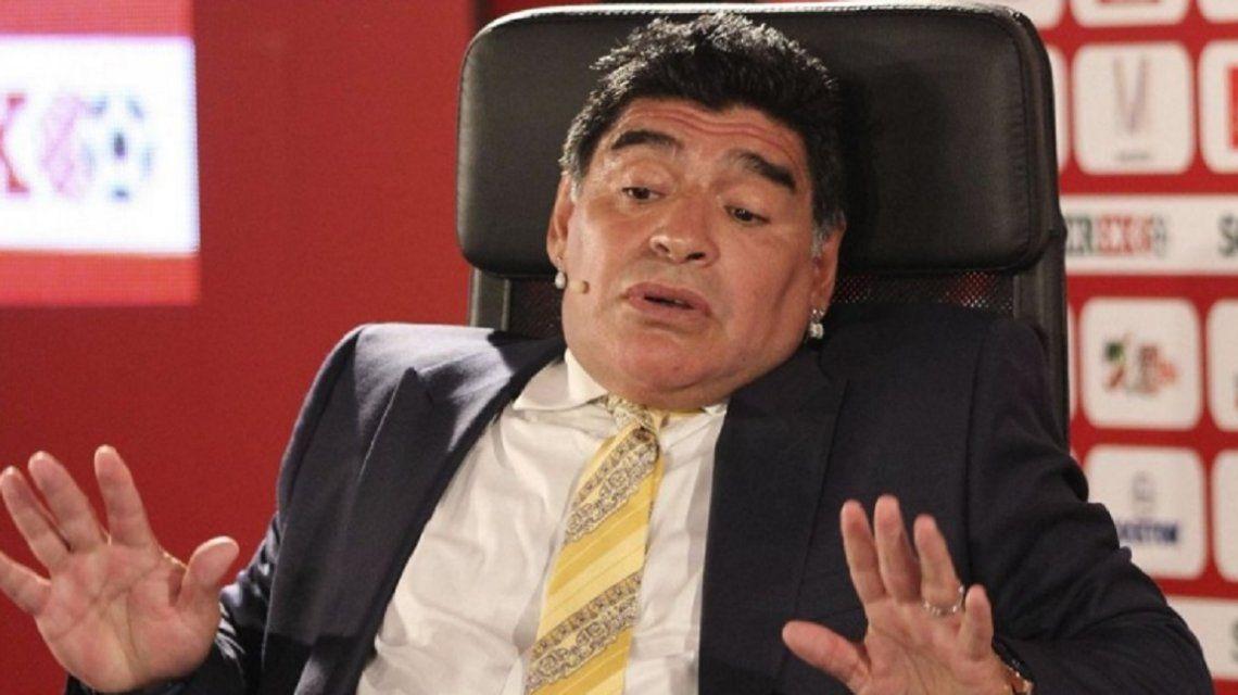 Maradona se sumó al pedido por la aparición de Santiago Maldonado