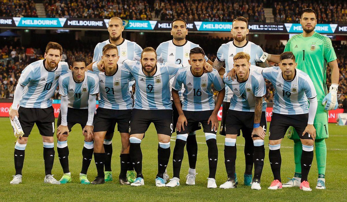 El equipo que jugó el amistoso ante Brasil en el debut de Sampaoli