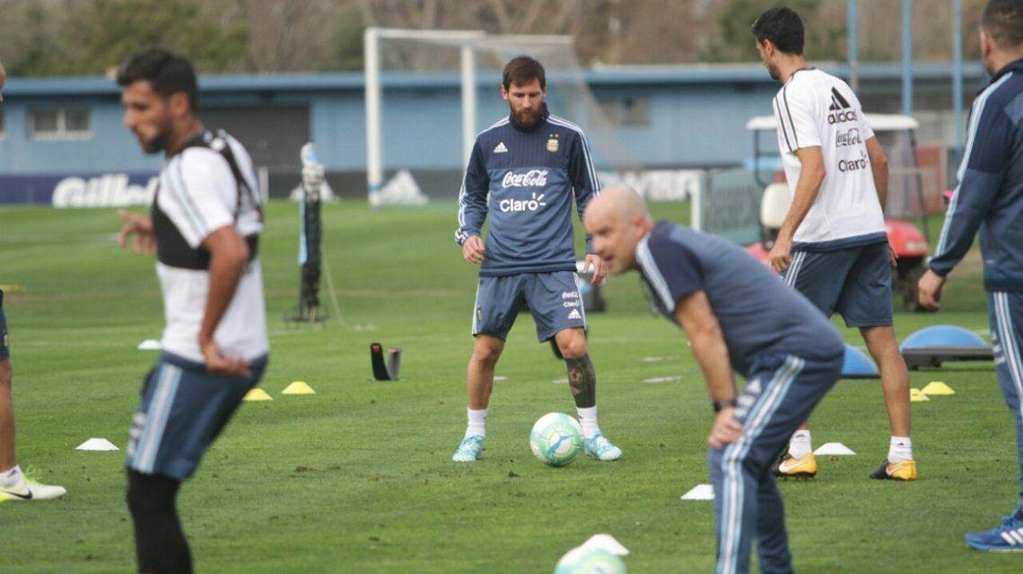 Entrenamiento de la Selección - Crédito: @Argentina