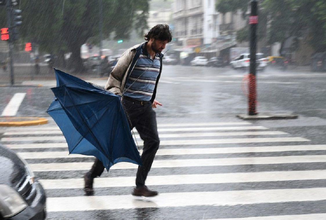 Alerta por tormentas en la Ciudad y el Conurbano: ¿cuándo para la lluvia?