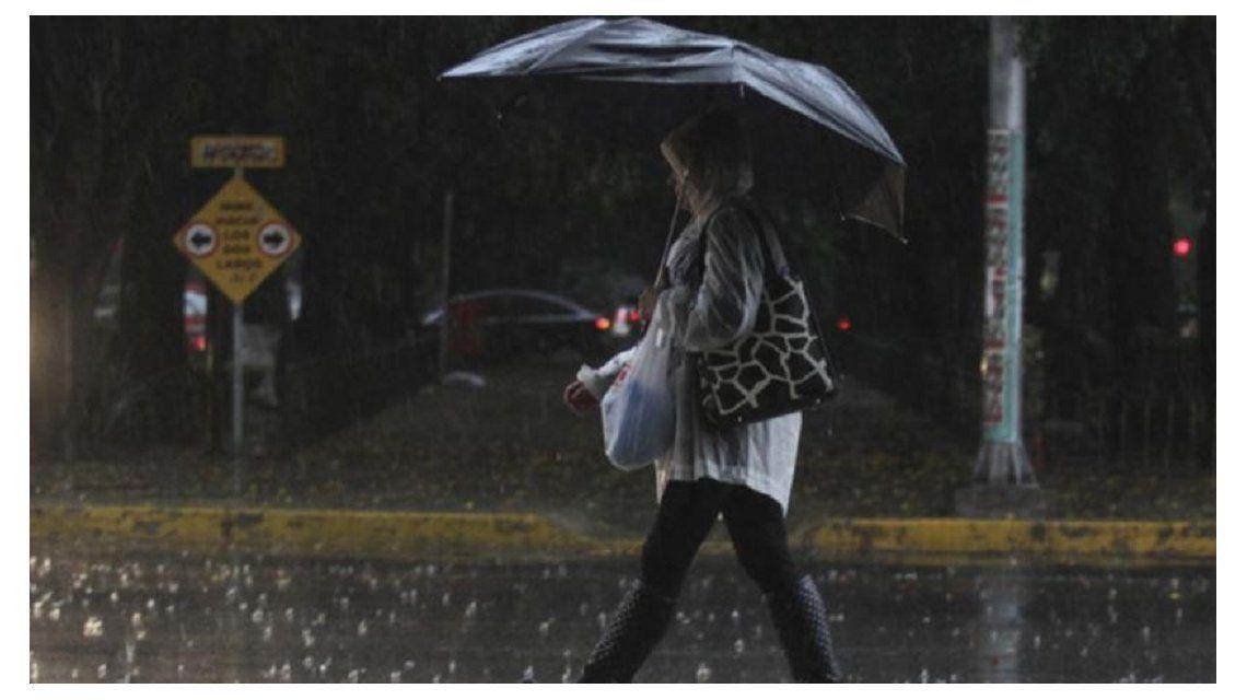 Alerta por tormentas fuertes para la Ciudad y parte de la provincia de Buenos Aires