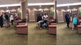 VIDEO: Dos mujeres pelearon a golpes de puño por un comentario racista