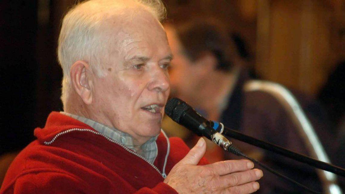Jorge Julio López cuando declaró como querellante de Etchecolatz
