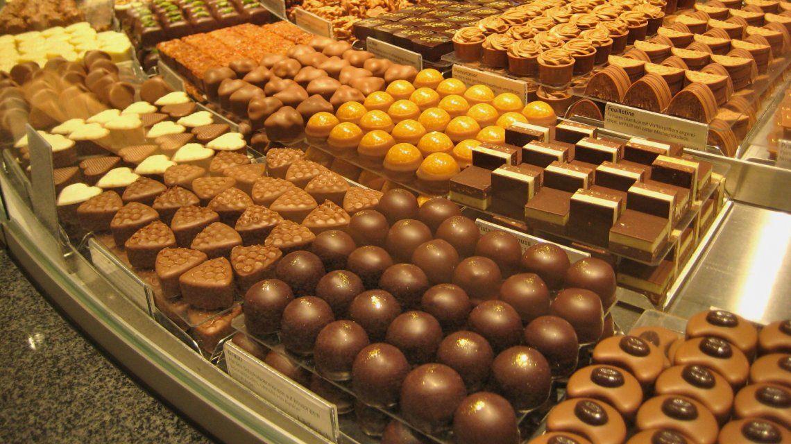 Las mejores cinco chocolaterías de Suiza