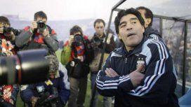 Maradona terminó dándole la clasificación a Argentina en la última fecha