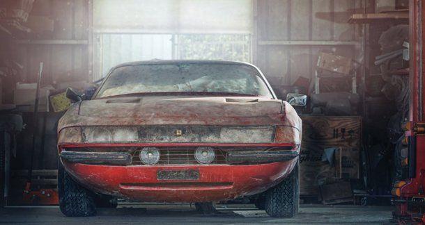 La Ferrari 365 GTB/4 es un modelo de 1969