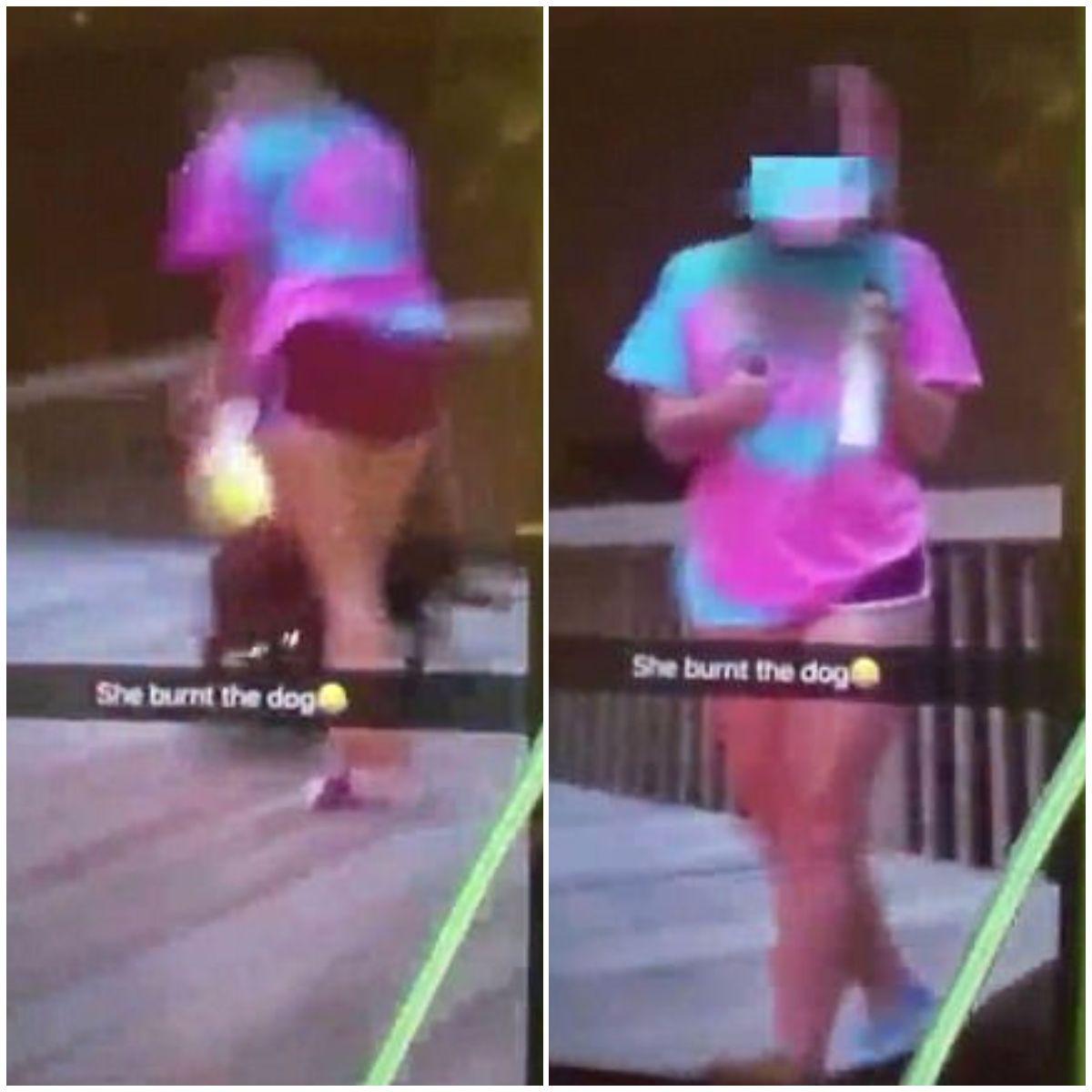 La adolescente subió las imágenes a sus redes sociales