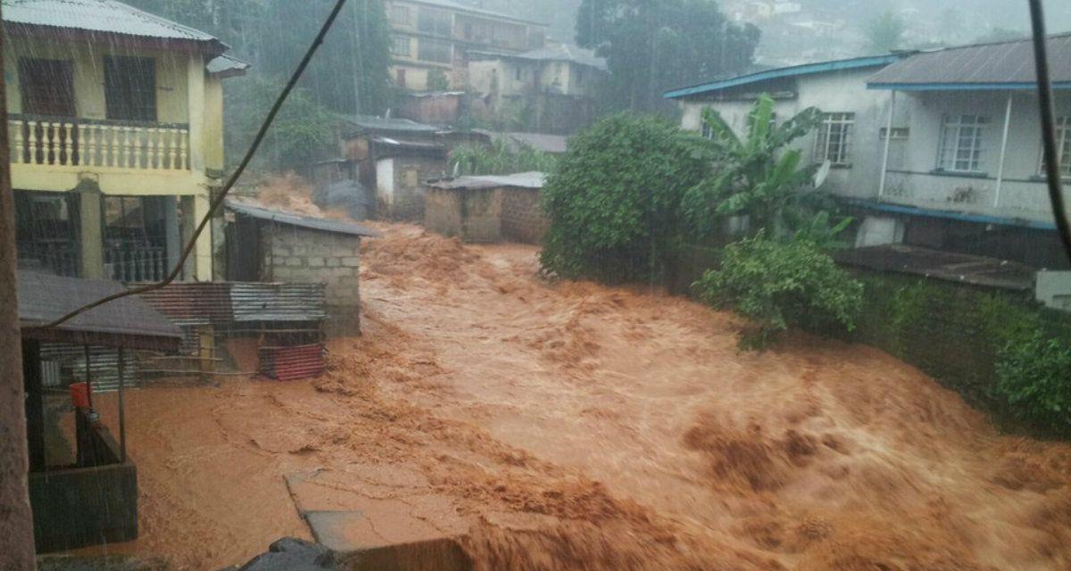 Ya son más de mil los muertos por el alud en Sierra Leona