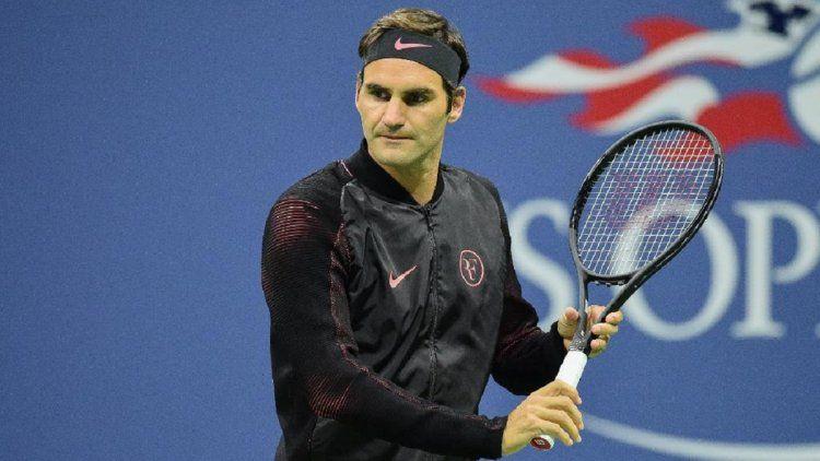 A Roger Federer le costó vencer en su debut en el US Open 2017