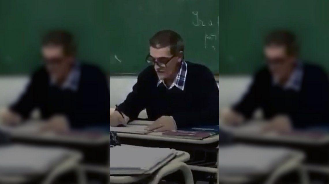 El profesor que intentó concientizar a sus alumnos sobre la desaparición de Santiago Maldonado