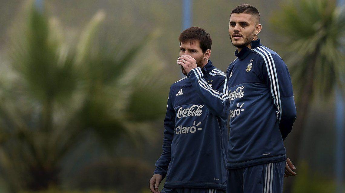 VIDEO: La pared entre Messi e Icardi que ilusiona de cara a las Eliminatorias