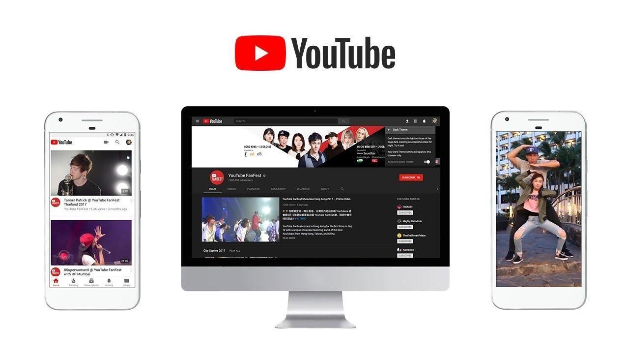 YouTube presentó su nuevo diseño