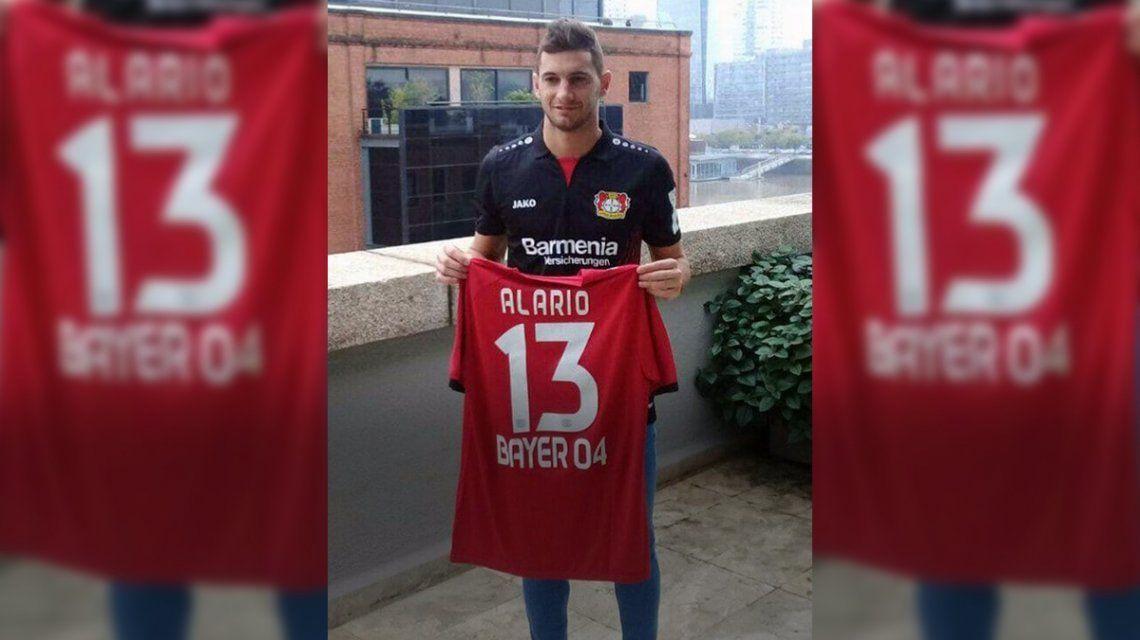 El descargo de River por el pase de Alario a Bayer Leverkusen