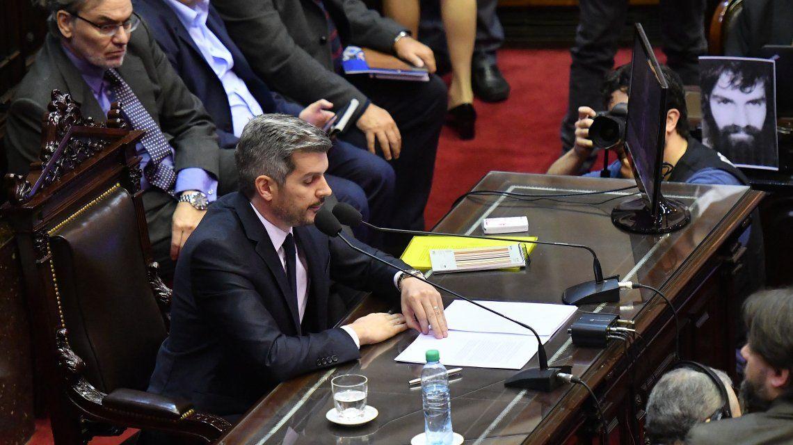 Marcos Peña en Diputados