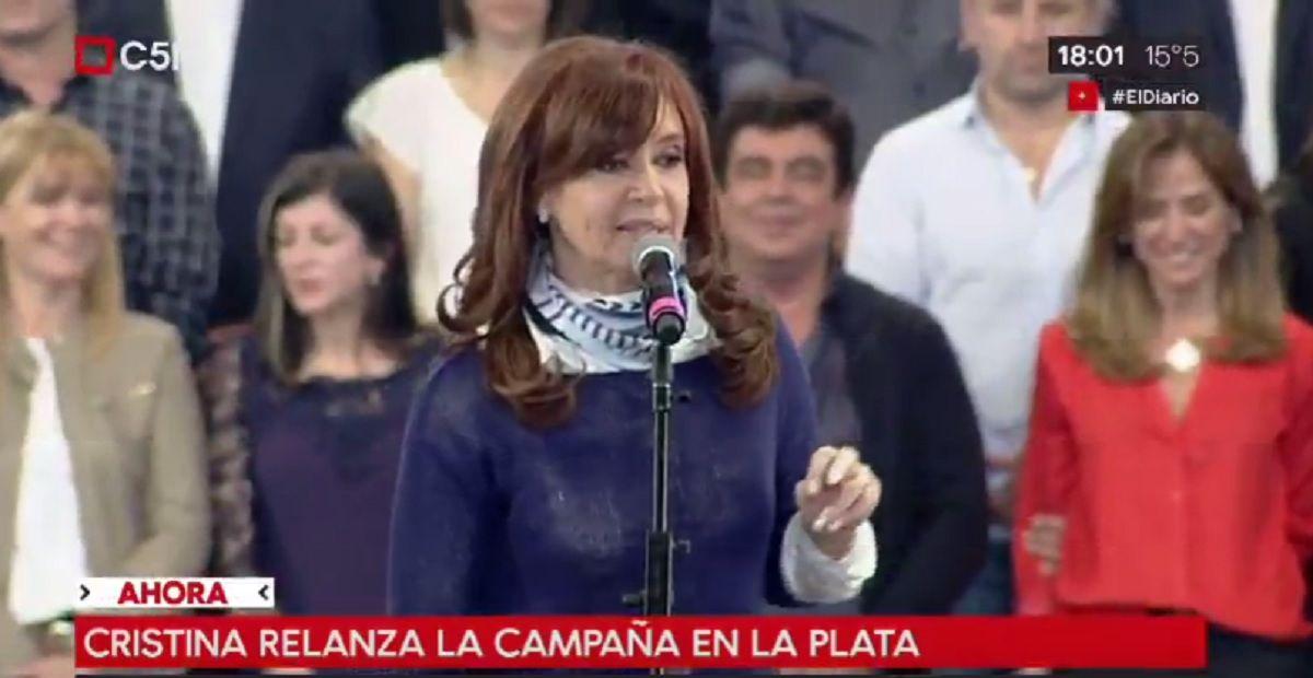 Cristina relanzó su campaña: Dos de cada tres votó contra el ajuste