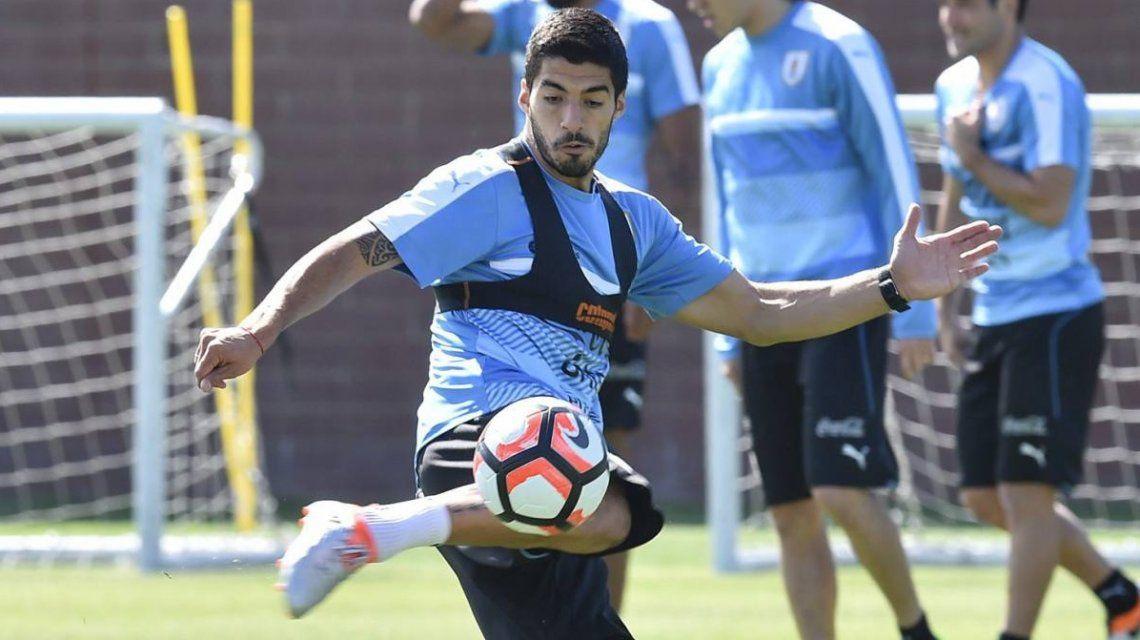 Luis Suárez estará frente a Argentina