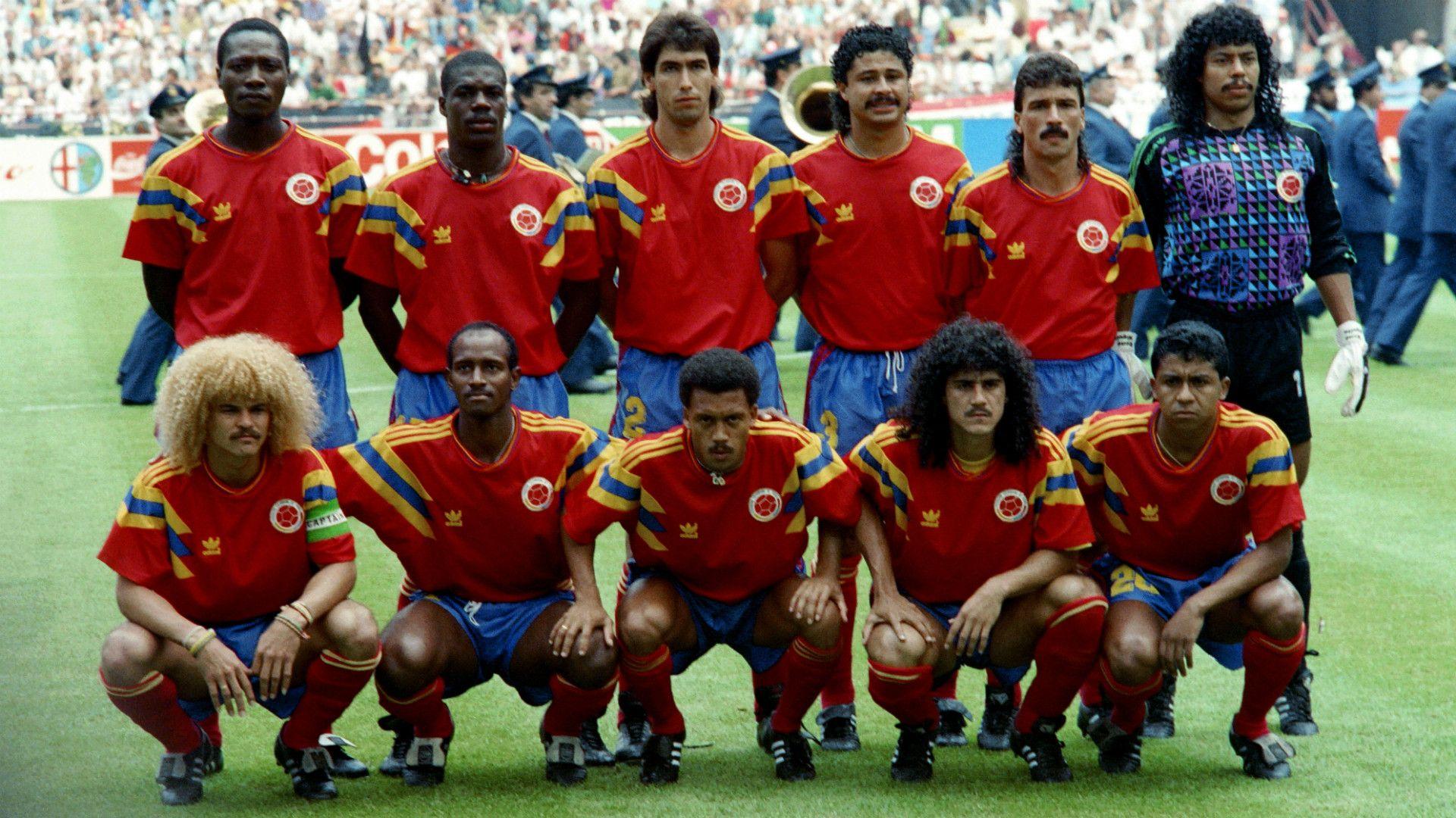 Selección Colombia de Italia 90