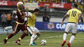 Colombia fue local en la ida