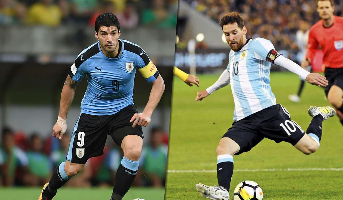 Uruguay vs. Argentina: formaciones, horario y TV