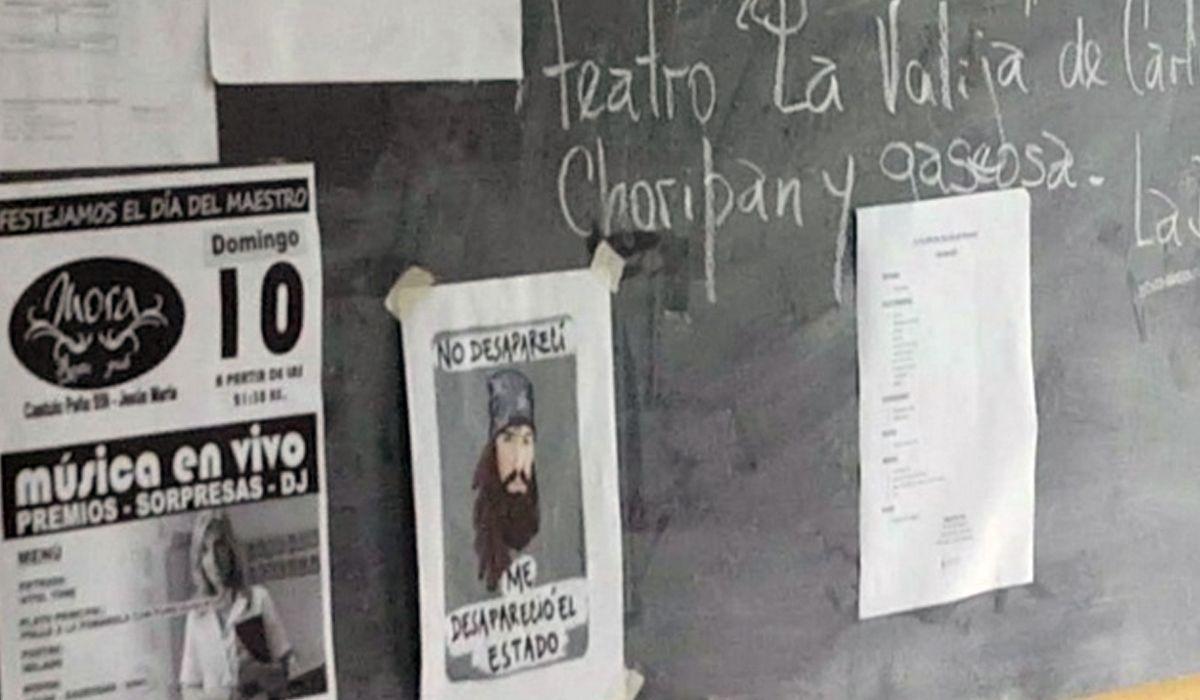 Una madre retiró a su hijo de un colegio porque se iba a hablar de Santiago Maldonado