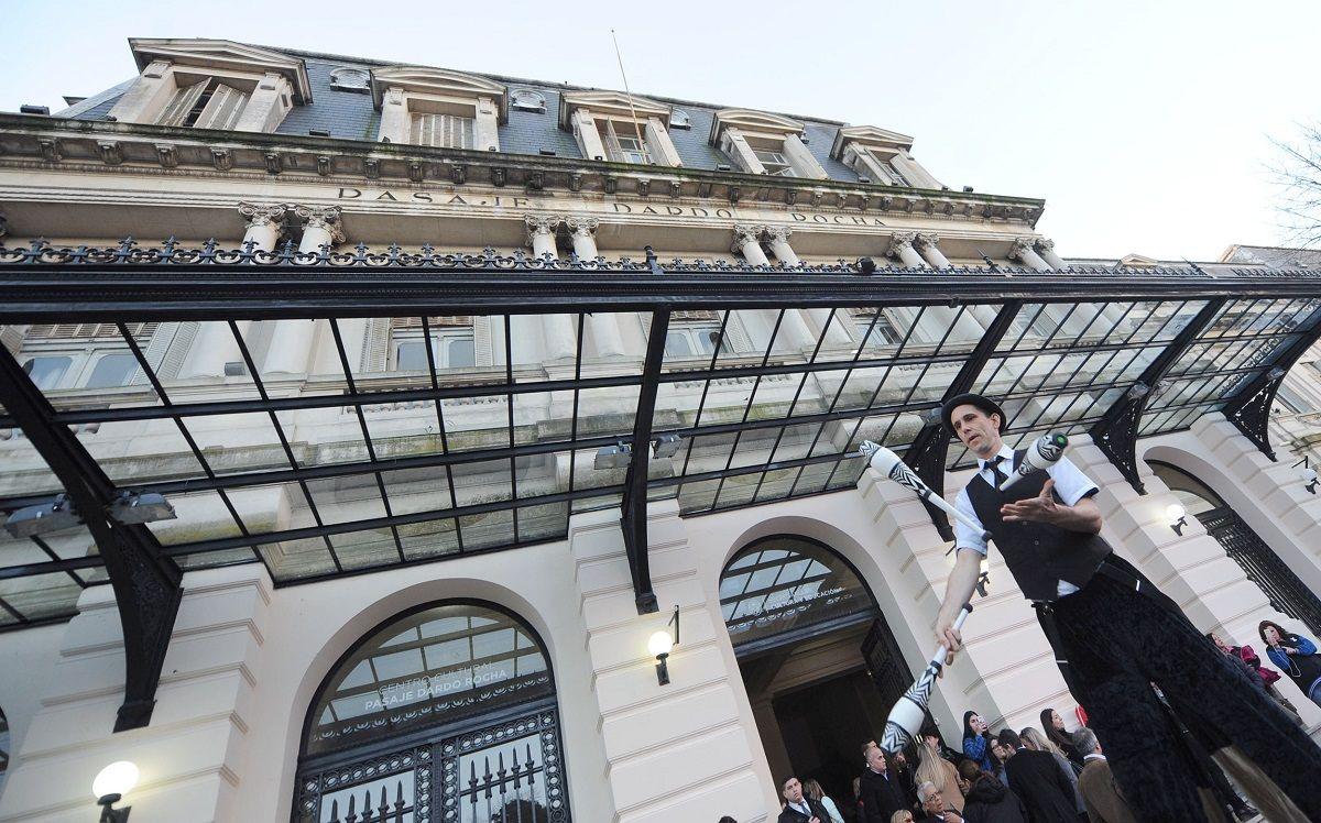 La Plata recuperó un emblemático Centro Cultural: El Pasaje Dardo Rocha