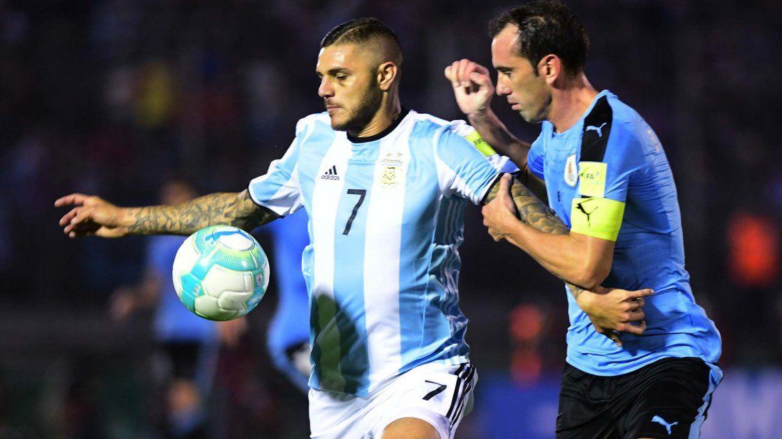 Argentina no pudo ante el duro Uruguay y se trajo un empate del Centenario